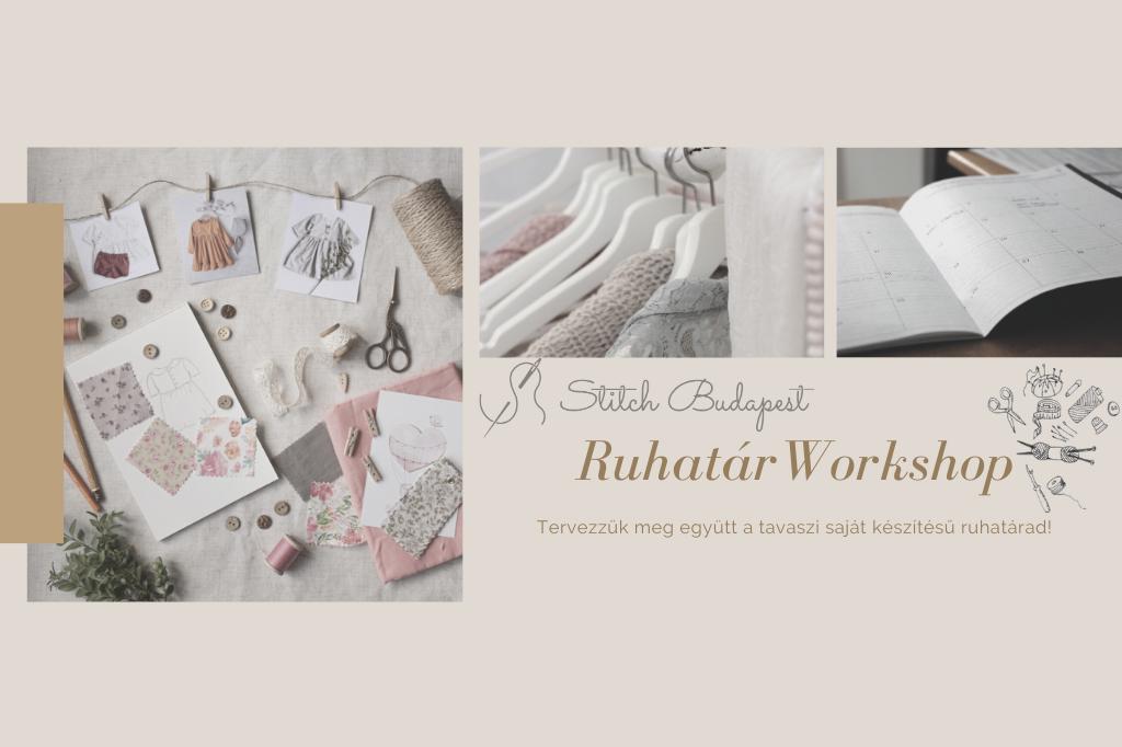 Ruhatár tervező workshop